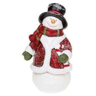 Xmas Cheer Snowman Candy Cane (Large)